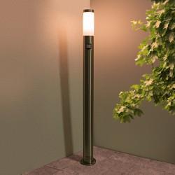 gartenleuchte wegeleuchte bt1003 h1 1 mit bewegungsmelder edelstahl hoflampe ga ebay. Black Bedroom Furniture Sets. Home Design Ideas