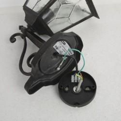 wandlampe aussenleuchte alu druckgu bt4001a schwarz gold wandleuchte leuchte. Black Bedroom Furniture Sets. Home Design Ideas