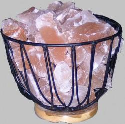 salzkristall lampe feuerschale salzlampe himalaya salzleuchte 1302 ebay. Black Bedroom Furniture Sets. Home Design Ideas