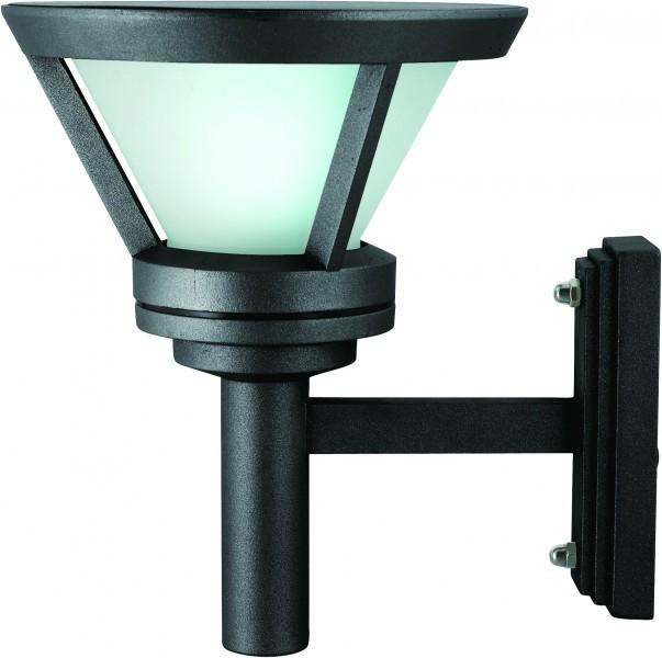 canton solar aussenwandlampe mit bewegungsmelder bt3444 up. Black Bedroom Furniture Sets. Home Design Ideas