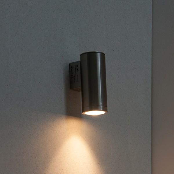 lisboa edelstahl aussenleuchte wandleuchte bt7113b ss. Black Bedroom Furniture Sets. Home Design Ideas