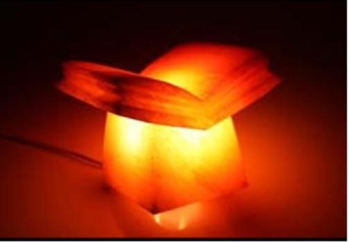 salzkristall lampe buch salzlampe himalaya salzleuchte 1306 wir schenken ihnen die mwst. Black Bedroom Furniture Sets. Home Design Ideas