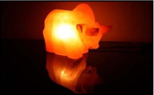 salzkristall lampe kristall stier salzlampe himalaya salzleuchte 1301. Black Bedroom Furniture Sets. Home Design Ideas
